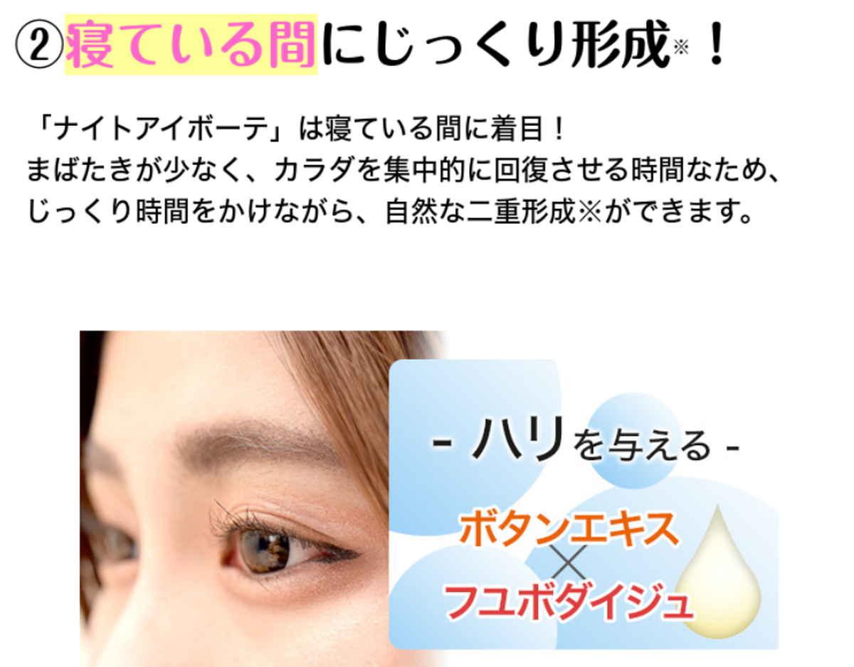 ナイトアイボーテ(500円モニター)
